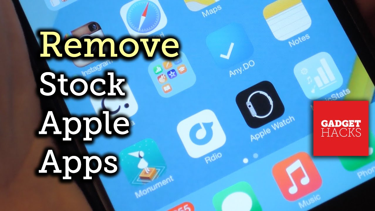 Remove stock apple apps from your iphone 39 s home screen for Best home decor apps iphone