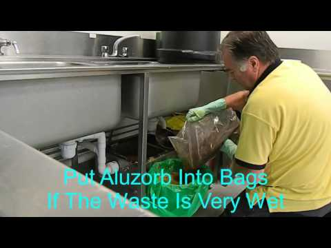 Aluline Grease Trap Cleaning Video
