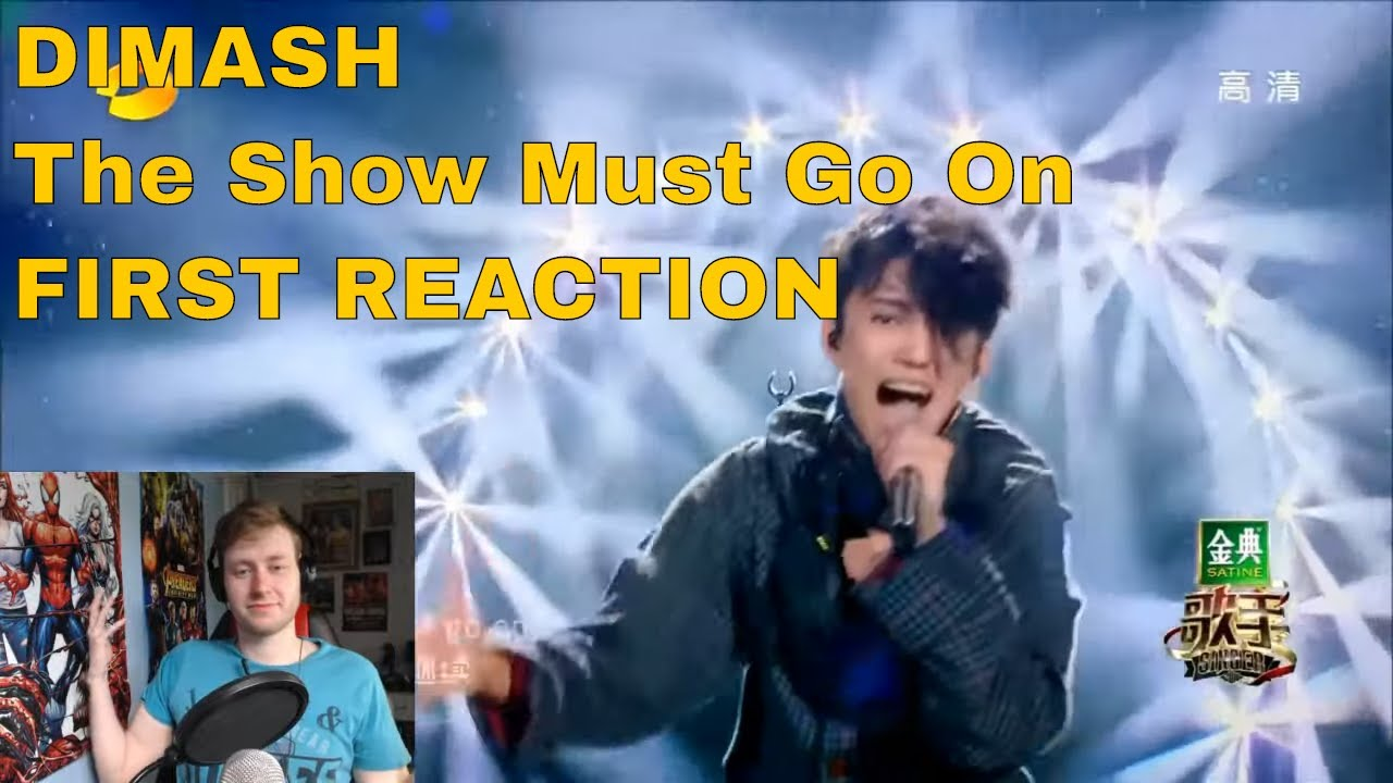 DIMASH - The Show Must Go On (Queen) FIRST REACTION