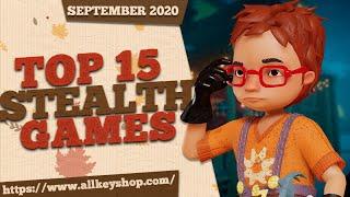 Top 15 Best Steąlth Games - September 2020 Selection