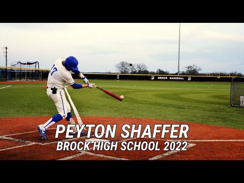 Peyton Shaffer   Brock High School 2022