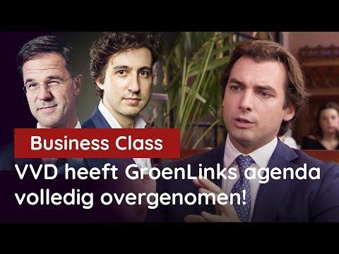 """Baudet bij Business Class: """"VVD heeft de GroenLinks-klimaatagenda volledig overgenomen!"""""""