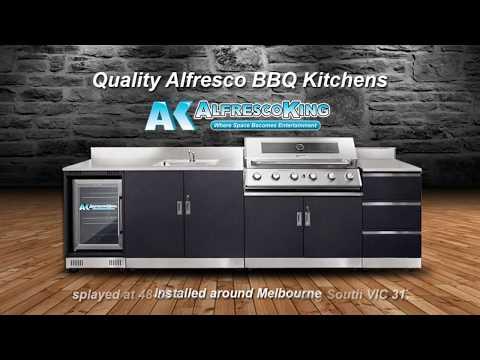 Alfresco King Outdoor Kitchens  BBQ  Melbourne