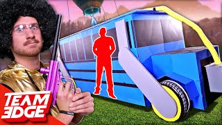 Shoot the Person in the Fortnite Battle Bus!!