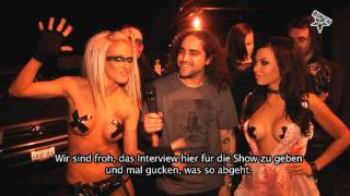Butcher Babies I Live & Interview