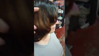 Korean c curl perm #calvin hair studio