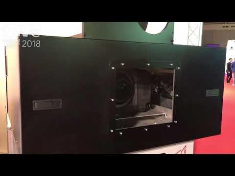 ISE 2018: Vicom Exhibits Remote Shutter DMX Housing for Projectors