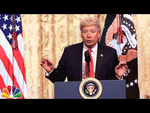 Trump Press Conference Cold Open - YouTube