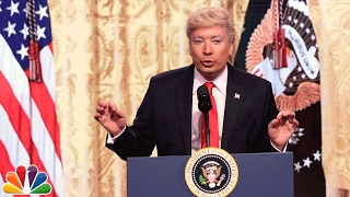 Trump Press Conference Cold Open - Comedian Jimmy Fallon