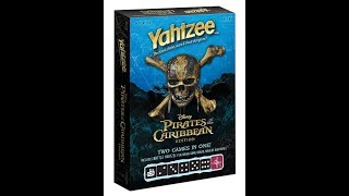 Dad vs Daughter - Yahtzee: Pirates of the Caribbean - Mom vs Dad Edition
