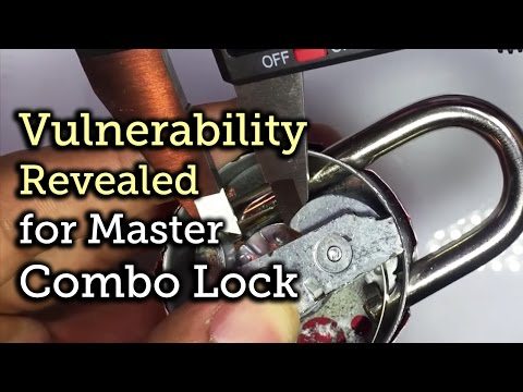 Explanation of cracking a combo lock in 8 attempts or less!