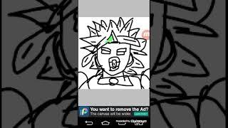 Desenhando o broly lendário