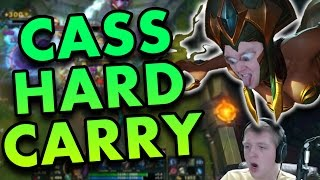 HOW TO HARD CARRY AS CASSIOPEIA MID - League of Legends Commentary