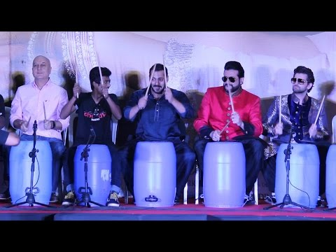 Salman Khan Playing the Drum | Bang Bang Bang