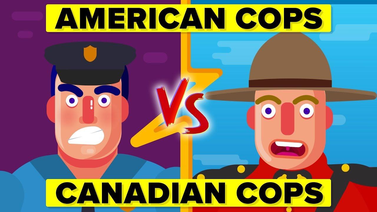 American Cops vs Canadian Cops