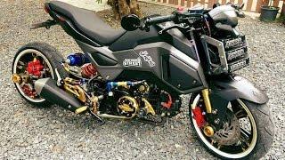 Honda msx 125   homemade motorcycle 2015 & 2016 Impressive