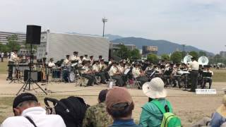 2017/05/21 第4師団創立63周年・福岡駐屯地開設67周年記念行事での陸上...
