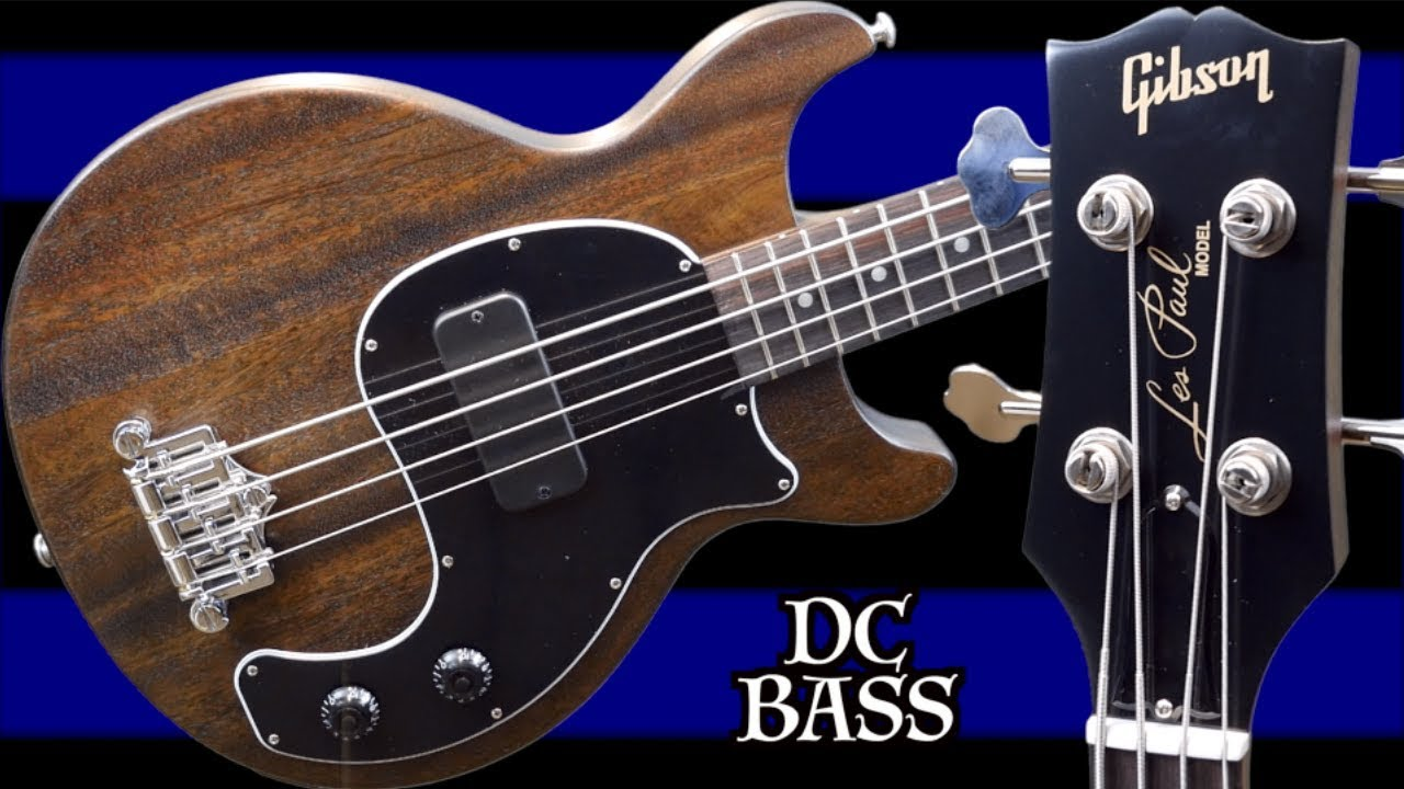 Is the NEW DC Bass Worth Buying? | 2019 Gibson Les Paul Junior Doublecut  Bass | Review + Demo