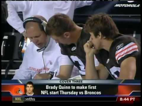 ESPN2 First Take -- Brady Quinn / Greg Camarillo