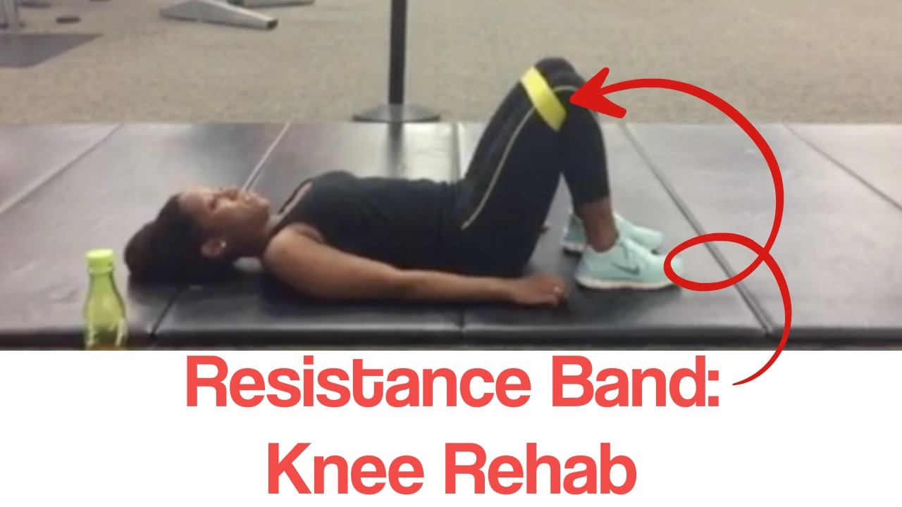 Resistance Band Exercise For Knee Pain Treatment Youtube