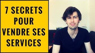 VENDRE SES SERVICES AUX ENTREPRISES | 7 SECRETS ?