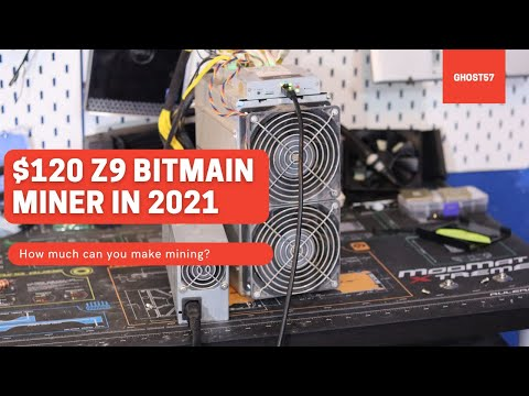$120 Z9 Bitmain Miner In 2021, How Much Can You Make Mining?