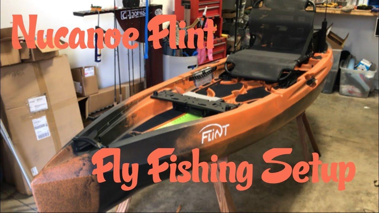Nucanoe Flint Fly Fishing Setup Youtube