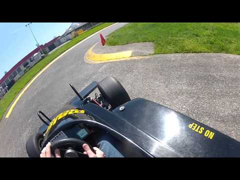 Malibu Grand Prix/Raceways. Best two laps, April 2013, (GoPro Helmet Cam)