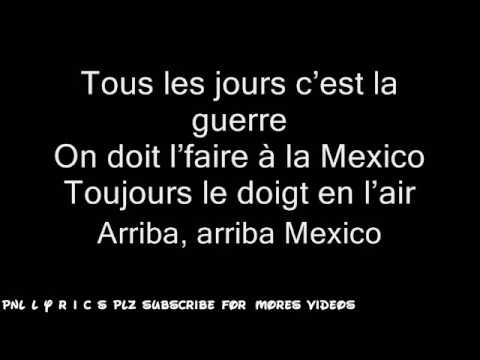 Pnl Mexico Lyrics