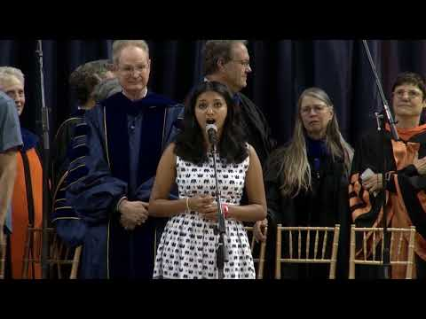 2017 Chancellor's New Student Convocation