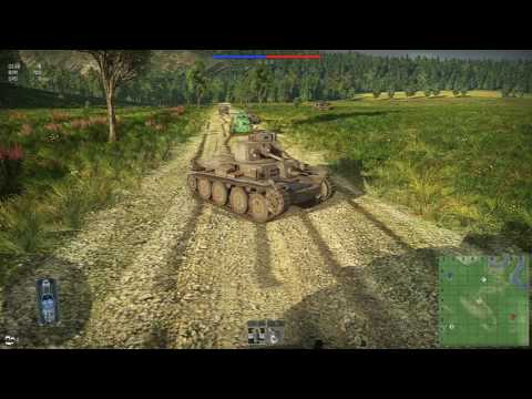 War Thunder mission: Disorganization and we Build a Bridge!