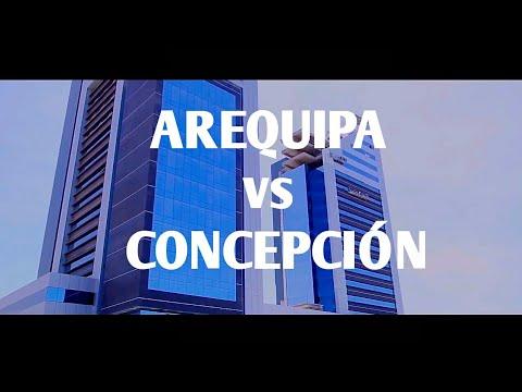 ✓Arequipa, Perú vs Concepción Chile | Ciudades de sudamerica