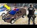 GTA 5: POLICIA E LADRÃO - PERSEGUIÇÃO NA FAVELA  CHOQUE NA ÁREA  -  15