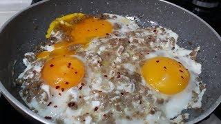 Kavrulmuş Kıyma İle Kıymalı Yumurta Nasıl Yapılır İşte Tarifi