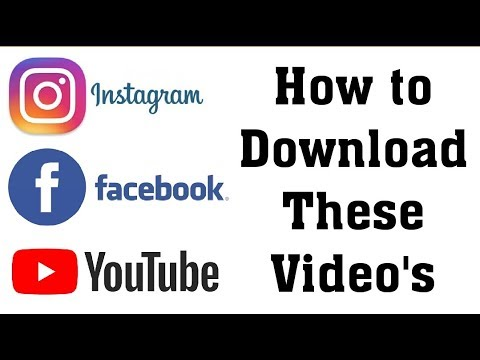 How to Download Instagram and Youtube Video's Tamil