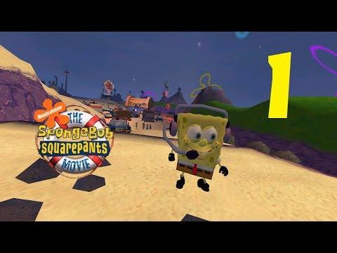 SpongeBob Movie Game - Part 1 (No Cheese) 1080p