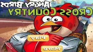 Angry Birds Cross Country -  RED BIR, RED CAR TO START THE CHALLENGE !