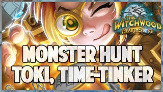 Monster Hunter with RNG Master Toki | Hearthstone | The Witchwood