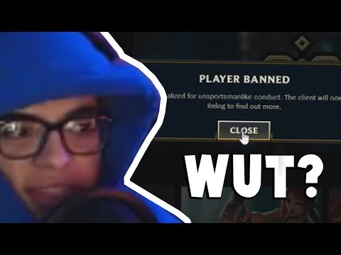 When You get Banned From League of Legends On The 1st Day of 2018... | Funny LoL Series #228