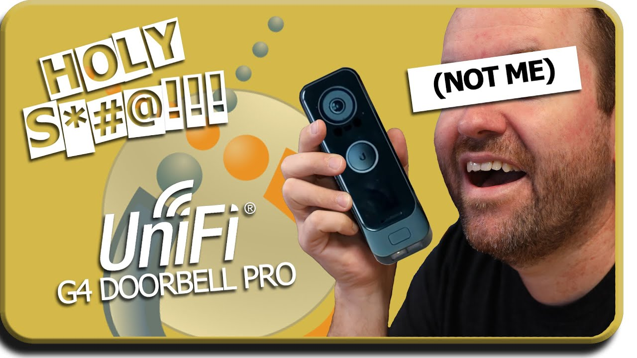 Download Protect G4 Doorbell Pro - Reaction to This Awesome New (maybe) Product!