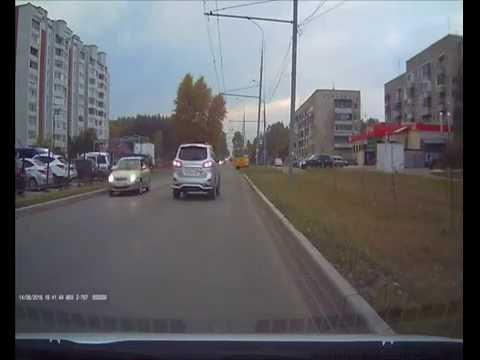 авария на пешеходном в Йошкар-Оле
