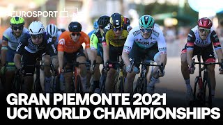UCI Road World Championships 2021 | Gran Piemonte 2021 Highlights | Cycling