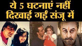 पहली पत्नी ऋचा, बाल ठाकरे और  क्या-क्या नहीं दिखाया Sanju Film में? | Sanjay Dutt | Ranbir Kapoor