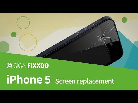 cracked iphone 5 screen repair uk