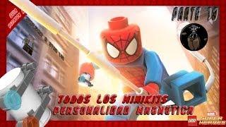 LEGO Marvel Super Heroes Minikits y Stan Lee de Personalidad Magnetica