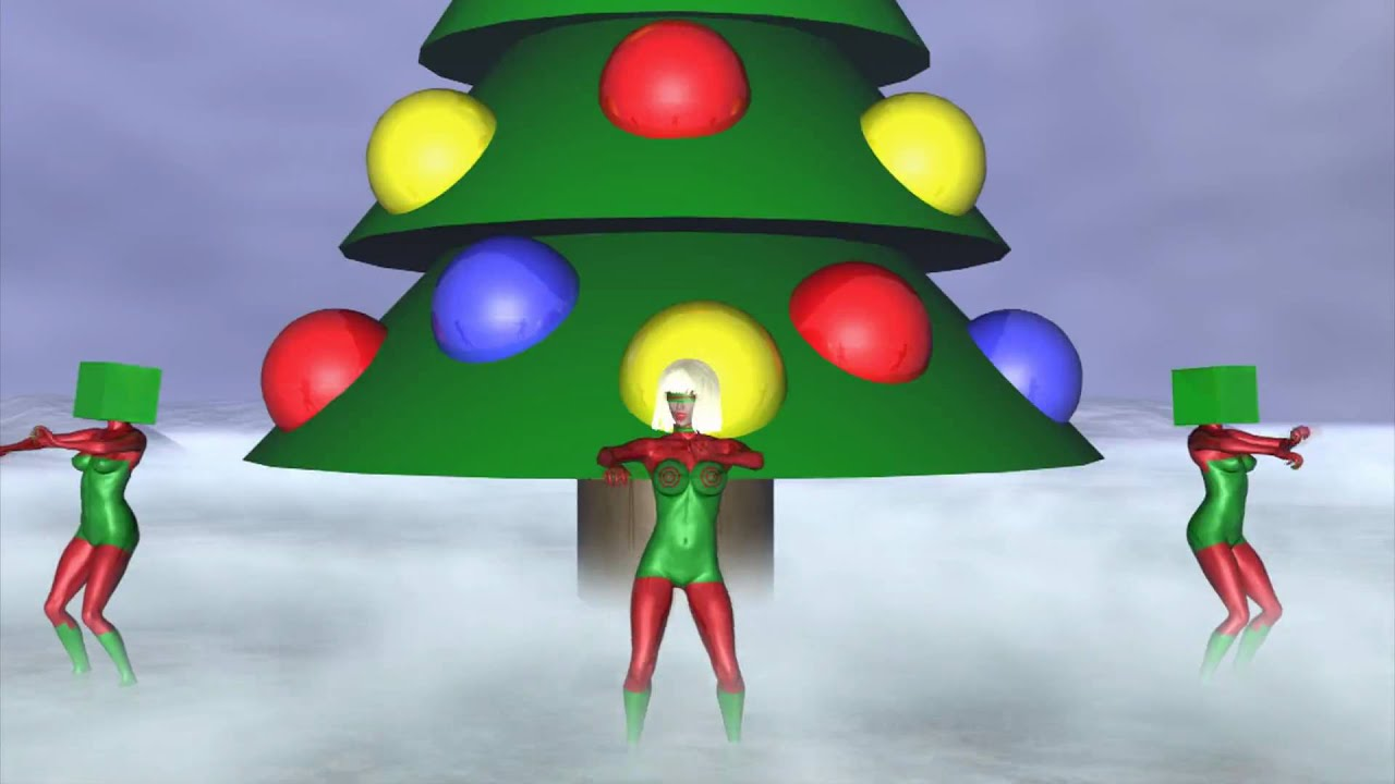Lady Gaga Christmas Tree En 3D YouTube - Lady Gaga Christmas Tree Youtube