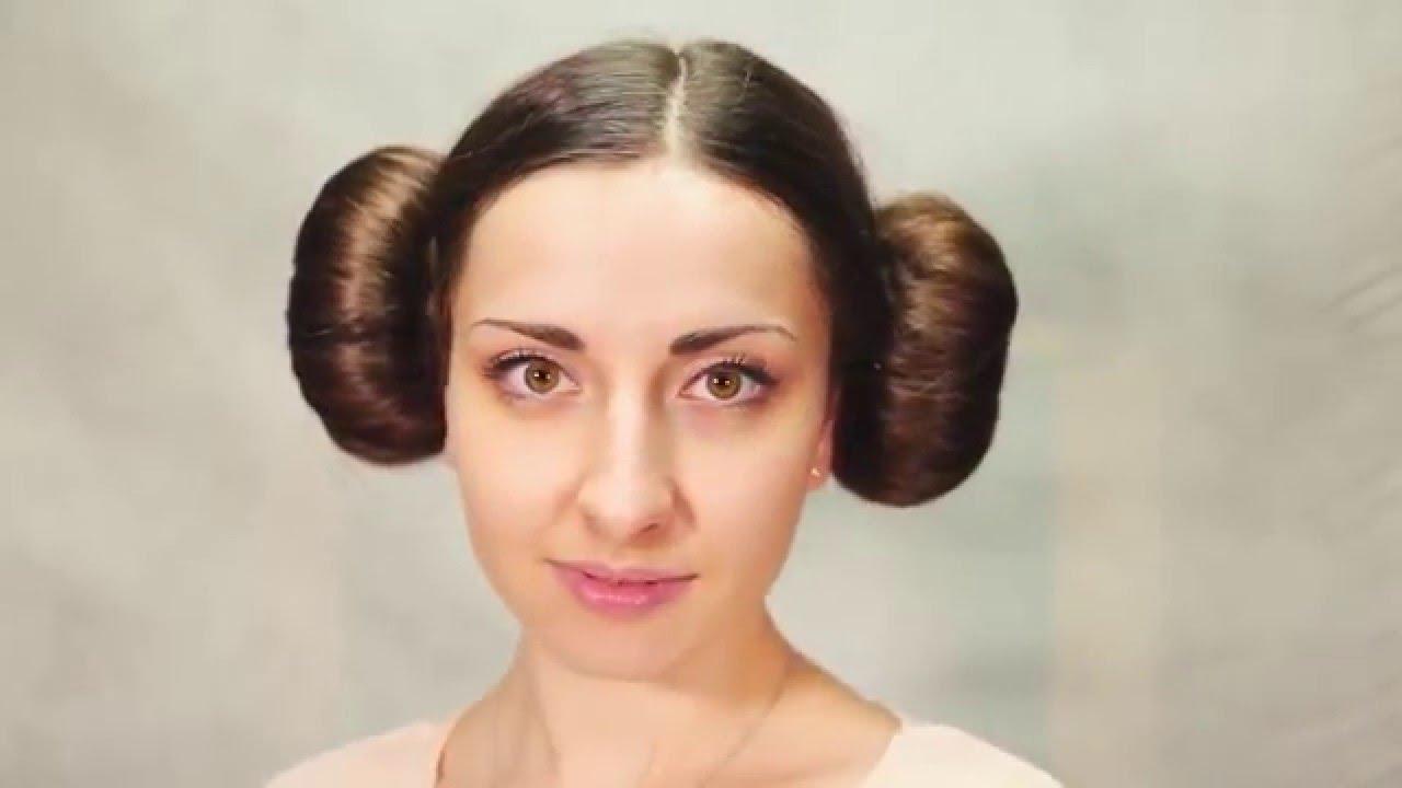 Fryzura Z Filmu Star Wars Księżniczka Leia Youtube