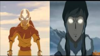 Aang and Korra - The Avatar State Themes (Remixed Together)