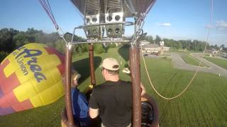 Hot Air Balloon Ride with Shirlee