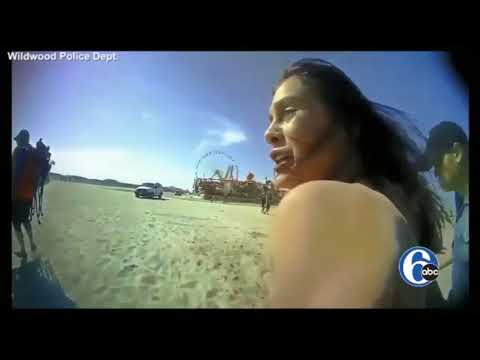 FULL VIDEO: Wildwood police release body cam of beach arrest